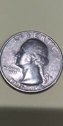 One Roll 1776-1976 D Bicentennial Qtr In Excellent Condition Rare