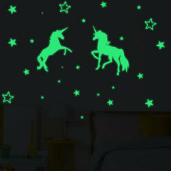 Wall Stickers Kids Room Home Decor Glow In The Dark Stars Decal