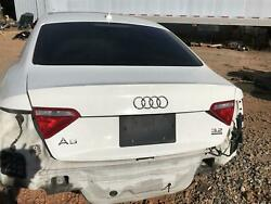 08-16 Audi A5 S5 Coupe Trunk Lid Deck Lid Assembly W/back-up Camera Oem White