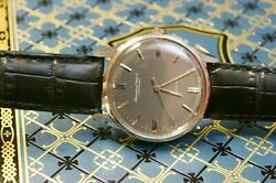 Rare Automatic Steel 854 International Watch Co R810a 1966/1967andnbspanthracite