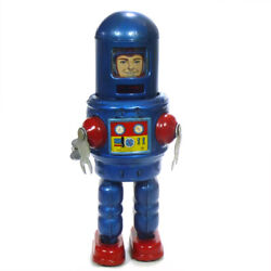 1960s Robby Robot Astronaut Tin Wind Up Toy By Yonezawa Japan