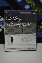 Oesd Sterling Monograms Usb Stick 010 Crafterand039s Collections