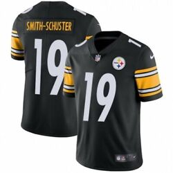 Ju Ju Smith Schuster Pittsburgh Steelers Nike Nfl Youth Jersey Free Vintage Card
