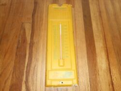 Vintage Northwestern Iowa Division Safety Railroad Rr Advertising Thermometer