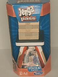 Jenga Pass Challenge Game By Hasbro Gaming, Brand New In Package, Factory Sealed