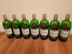 7x Tanqueray Gin 70cl Empty Bottle Craft Upcycling Bottles