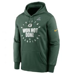 Sale Nike Nfc North Division Champions Nfl Green Bay Packers Menand039s Hoodie