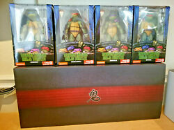 Sdcc 2019 Neca Tmnt Capture Of Splinter And 90and039s Movie Game Stop Exclusive Turtles