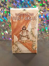 Tarot Of The Holy Grail Rare 2006 Oop 78 Card Tarot Deck Lo Scarabeo - Sealed