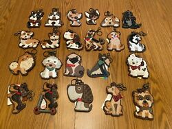 CHALA DOG KEY FOBS Most with Coin Purse on the Back ADORABLE amp; CHARMING