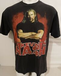 Vtg 2003 Wwe Wcw Nwo Big Daddy Cool Kevin Nash T Shirt Size Large Double Sided