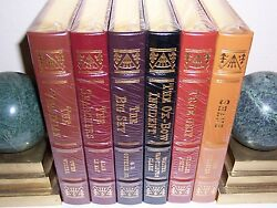 Easton Press Masterpieces Of The Wild West 6 Vols Virginian Big Sky Shane Ox-bow