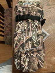 Drake Waterfowl System Lst Refuge Hs Gore-tex Camo Gloves Mossy Oak Shadow Grass