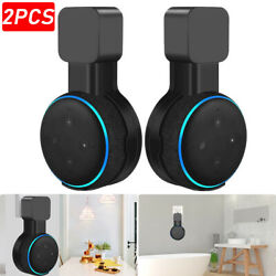 2X Mount Stand Holder Outlet Wall For Amazon Echo Dot 3rd Generation Speaker NEW