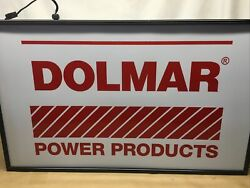 Dealer Exclusive Double Sided Dolmar Light Box 18 X 30 279435606530