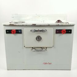 Empire Little Lady Stove Top Oven Model 240 Metal Toy W/ Signal Light