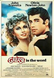 271739 Grease Is The Word Movie Poster Print Wall