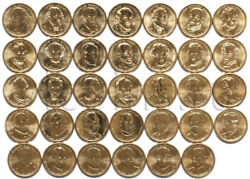 Usa 1 Presidental Full Set Of 39 Coins Mixed Mints 3179
