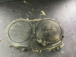 07 Yamaha Grizzly 700 Eps Clutch Belt Box Cover