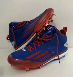 Adidas Kris Bryant Sample Pe Game Used Cleats Player Exclusive Cubs Size 13.5