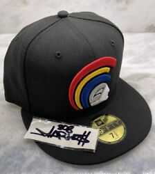 Ds Fitted Hawaii Black Primary Mua Hat 7 1/2 Not Farmers Market Hawaii 808allday