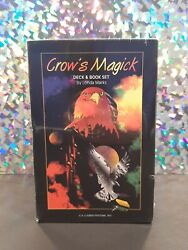 Crow's Magick Rare Oop Tarot Card Deck And Book Set By Londa Marks New Sealed