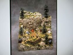 Smc-108 The Miklos Mine Ho-scale Unfinished New Lite Weight Resin And Foam
