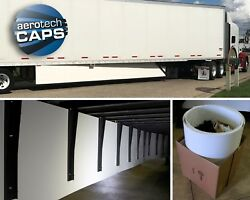 Aerodynamic Trailer Skirt Set Of 2 For Semi-truck Save Fuel By Aerotech Caps