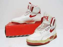 Nike Air Delta Force St White Red Menand039s Us10.5 28.5cm Made In Korea 1989 Vintage