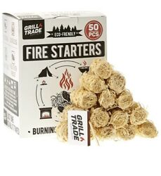 Fire Starter For Grill, Bbq, Camping Fire Pit, Fireplace, Wood Stove All Natural