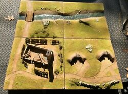 Huge 4x4 F Diorama For King And Country First Legion 54mm 135 130 132 Ww2 Nap