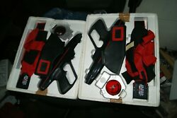 Vintage 1986 Worlds Of Wonder Lazer Tag 2 Sets In Great Condition