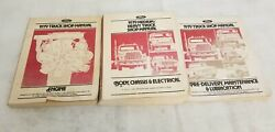 1979 Ford F150/f250/bronco Engine And Heavy Truck Body Service/shop/repair Manuals