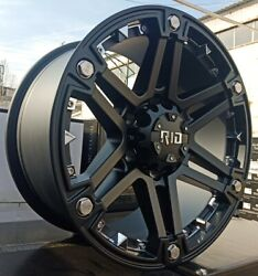 Rid R01 9x17 6x135 Jantes Pour Ford F150 Raptor Lincoln Navigator Neuf Expertise