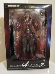 Devil May Cry 4 Play Arts Kai Dante Pvc Action Figure Square Enix From Japan New