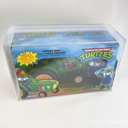 Tmnt Farmer Mike And His Turtle Tractor Mirage Studios Archives Afa Graded Sealed