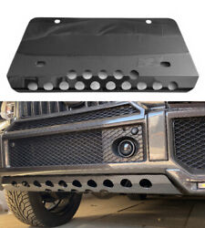 Mercedes-benzg-wagon W463 G63 G55 Front Bumper Skid Plate Guard Carbon Cover