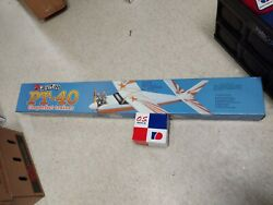 Great Planes Pt-40 The Perfect Trainer Model Rc Airplane Kit And New Os Max Motor