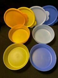 New Tupperware Set Of 4 Impressions Cereal Bowls - 2020 Colors- Free Shipping