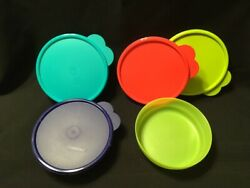 New Tupperware Set Of 4 Impressions Cereal Bowls - 2018 Colors- Free Shipping