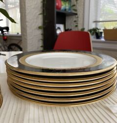 Noritake China Opulence Dinner Plates - Package Of 7