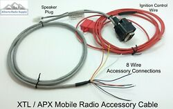 Accessory Cable For Motorola Mobiles Full Pinout Apx7500 Apx8500 Xtl2500 Xtl1500