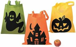 Fun Express Iconic Halloween Totes for Halloween Apparel Accessories 12 pc $15.99