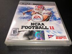 Ncaa Football 11 Playstation 3 Tim Tebow New Sealed Free Shipping And Returns