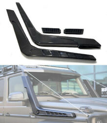 Mercedes-benz G-wagon Brabus Style W463 G63 G500 Carbon Side Air-intake Snorkels