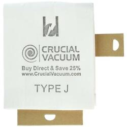 3 pack replacement j bags fits eureka compatible with part 61515c 6 $8.99
