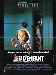 272244 Childs Play Movie Rare Version Chucky Poster Print Wall Ca