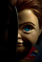 279907 Childs Play 2019 Aubrey Plaza Kid Horrible Movie Poster Print Wall Ca