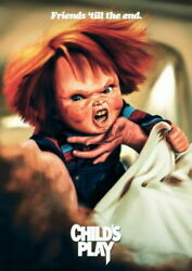279873 Childs Play 2019 Aubrey Plaza Kid Horrible Movie Poster Print Wall Ca