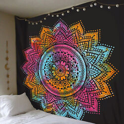 Mandala Tapestry Indian Wall Hanging Decor Bohemian Hippie Queen Twin Poster